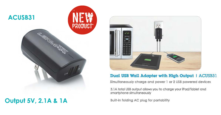 ACUSB31 Wall Adapter