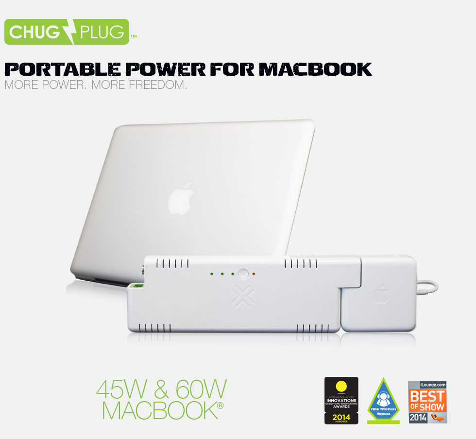 Chug Plug for MacBook