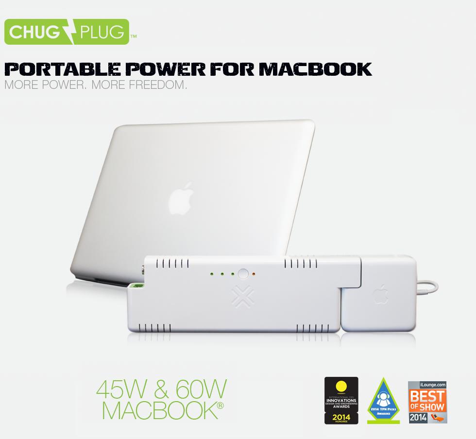 Chug Plug for MacBook