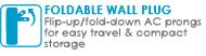 Foldable Wall Plug